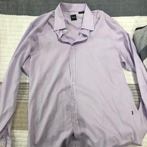 Light purple long sleeve dress shirt